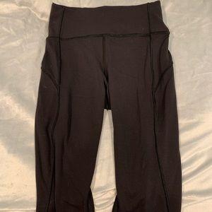 Soft all black Lululemon leggings